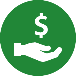Power to Save green icon for earning money back