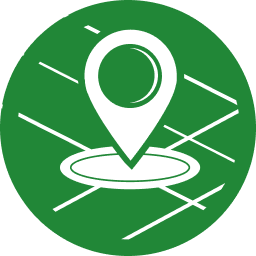 Map icon representing where customers can shop for Ameren Missouri rebates
